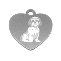 MEDAILLE PERSONNALISEE CHIEN RACE SHIH TZU