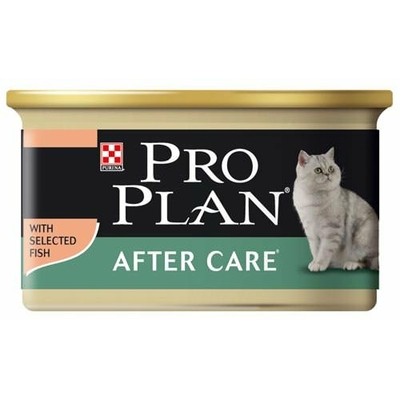 proplan cat after care saumon can