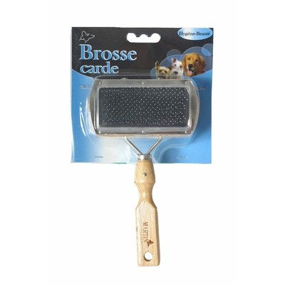 martin sellier brosse carde double chien chat