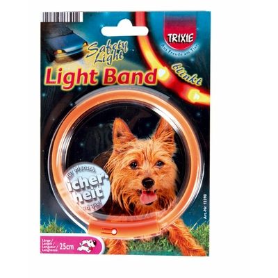 trixie collier chien light band