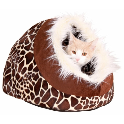 trixie igloo chien chat minou savane girafe
