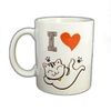 MUG HUMORISTIQUE I LOVE CAT