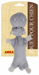 anka peluche chien chat big head hippopotame
