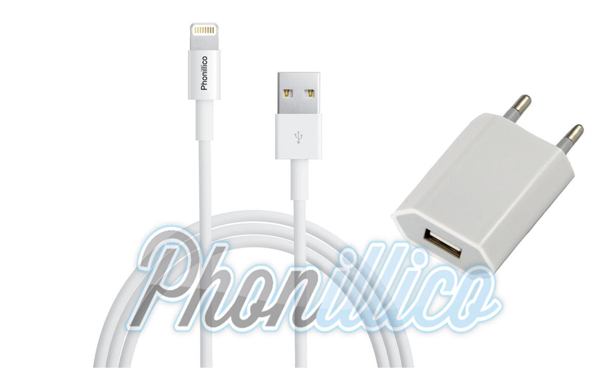 chargeur secteur cable usb pour apple iphone 5c apple iphone 5c phonillico. Black Bedroom Furniture Sets. Home Design Ideas
