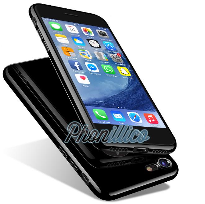 iphone x coque noir de jais