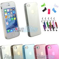 Coque Housse Etui Ultra Slim TPU pour Apple iPhone 4 / 4S