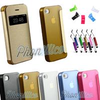 Coque Housse Etui Flip Cover View pour Apple iPhone 4 / 4S
