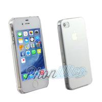 Coque Housse Etui Cristal Plastique Dur Transparent pour Apple iPhone 4 / 4S