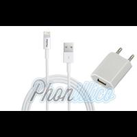 Chargeur Secteur + Cable Usb pour Apple iPhone 5 / 5S