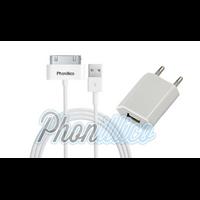 Chargeur Secteur + Cable Usb pour Apple iPhone 4 / 4S