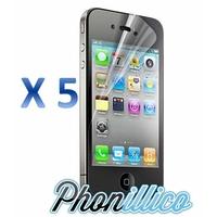 Lot 5 Films Protection Ecran pour Apple iPhone 4 / 4S