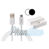 Dock Secteur + Cable USB pour Samsung Galaxy Grand Prime