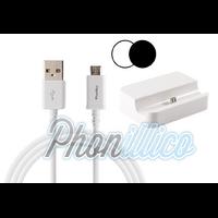 Dock Secteur + Cable USB pour Samsung Galaxy Note 4