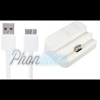Dock Secteur + Cable USB pour Samsung Galaxy Note 3