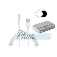 Dock Secteur + Cable USB pour Apple iPhone SE