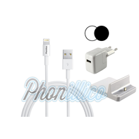 Pack Dock Chargeur pour Apple iPad Mini 1 / 2 / 3
