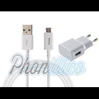 Chargeur Secteur + Cable USB pour Samsung Galaxy Grand 2