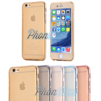 Coque Housse Etui TPU Silicone Intégrale Protection pour Apple iPhone 6 / 6S