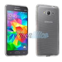 Coque Housse Etui Ultra Slim TPU Transparent pour Samsung Galaxy Core Prime