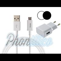 Chargeur Secteur + Cable USB pour Samsung Galaxy J7 2016