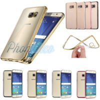 Coque Housse Etui Ultra Slim TPU Bumper Souple Plating pour Samsung Galaxy Grand Prime