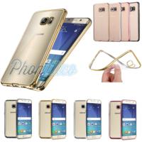 Coque Housse Etui Ultra Slim TPU Bumper Souple Plating pour Samsung Galaxy J5
