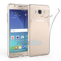 Coque Housse Etui Ultra Slim TPU Transparent pour Samsung Galaxy J7 2016