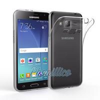 Coque Housse Etui Ultra Slim TPU Transparent pour Samsung Galaxy J3 2016