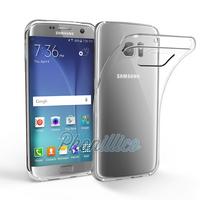 Coque Housse Etui Ultra Slim TPU Transparent pour Samsung Galaxy S7 Edge
