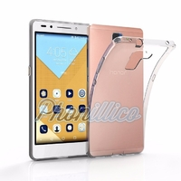 Coque Housse Etui Ultra Slim TPU Transparent pour Huawei Honor 7
