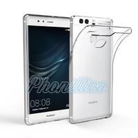 Coque Housse Etui Ultra Slim TPU Transparent pour Huawei P9