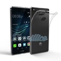 Coque Housse Etui Ultra Slim TPU Transparent pour Huawei P9 LITE
