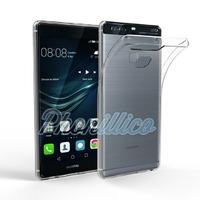 Coque Housse Etui Ultra Slim TPU Transparent pour Huawei P9 PLUS