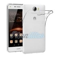 Coque Housse Etui Ultra Slim TPU Transparent pour Huawei Y5 2 / Y5 II