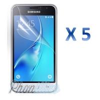 Lot 5 films Protection Ecran pour Samsung Galaxy J1 2016
