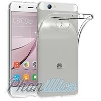 Coque Housse Etui Ultra Slim TPU Transparent pour Huawei NOVA