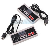 Lot de 2 Manettes pour Nintendo NES Classic Mini Edition 2016 - Câble 1m80