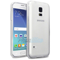 Coque Housse Etui Ultra Slim TPU Transparent pour Samsung Galaxy S5 Mini