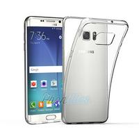 Coque Housse etui Ultra Slim TPU Transparent pour Samsung Galaxy S6 Edge Plus