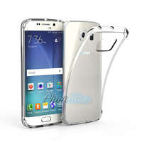 Coque Housse etui Ultra Slim TPU Transparent pour Samsung Galaxy S6 Edge