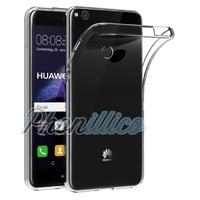 Coque Housse Etui Ultra Slim TPU Transparent pour Huawei P8 LITE 2017