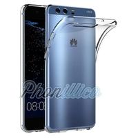 Coque Housse Etui Ultra Slim TPU Transparent pour Huawei P10