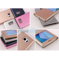 Coque Flip Cover S View Rabat pour Samsung Galaxy A5 2017