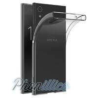 Coque Housse Etui Ultra Slim TPU Transparent pour Sony Xperia XA1 Ultra