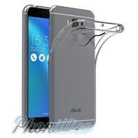 Coque Housse Etui Ultra Slim TPU Transparent pour Asus Zenfone 3 Max PLUS ZC553KL