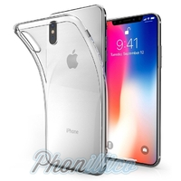 Coque Housse Etui TPU Ultra Slim Transparent pour Apple iPhone X