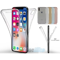 Coque Housse Etui TPU Silicone Intégrale Protection pour Apple iPhone X