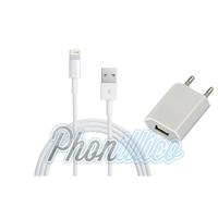 Chargeur Secteur + Cable Usb pour Apple iPhone X