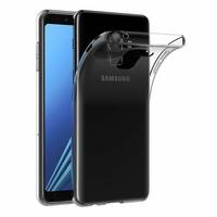 Coque Housse Etui Ultra Slim TPU Transparent pour Samsung Galaxy A8 2018