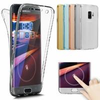 Coque Housse Etui TPU Silicone Intégrale Protection pour Samsung Galaxy S9+ S9 Plus